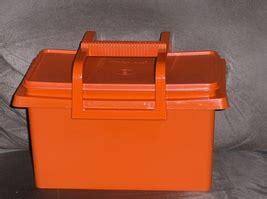 Tupperware Carry All Bowl Rantang Makanan Tupperware Carry All Craft Tote Orange Bowls