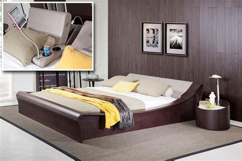 geneva bedroom furniture modrest geneva contemporary brown oak grey bedroom set