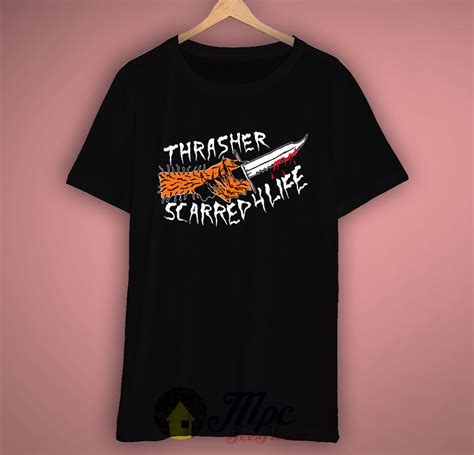 Tshirt Lowered Lifestyle thrasher scarred for t shirt mpcteehouse 80s tees