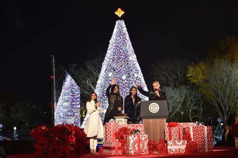 lighting the tree 2016 national christmas tree lighting