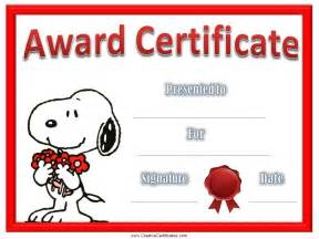 children s certificates free and customizable