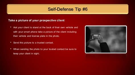 8 Self Defense Tips Every Should by 10 Self Defense Tips Every Real Estate Should
