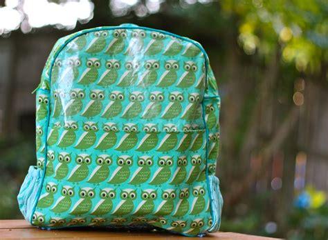 kindergarten backpack pattern kindergarten owl backpack buzzmills puffin patterns