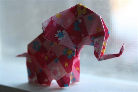 Elephant Origami Tutorial - origami elephant by sandzen on deviantart