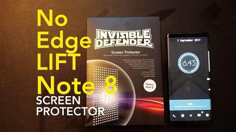 Rearth Ringke Galaxy Note 8 Invisible Defender Screen P Berkualitas install no lift galaxy note 8 wrap screen protector ringke