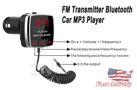 Bt53 Bluetooth Car Kit Fm Transmitter Aux Mp3 Player Radio wireless bluetooth 4 0 fm transmitter modulator car kit radio mp3 player usb aux ebay