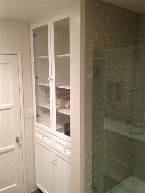 closet bathroom linen closet ensuite bath pinterest