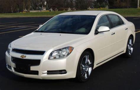 pearl white chevy malibu buy used 2012 chevrolet malibu lt sedan 4 door 2 4l with