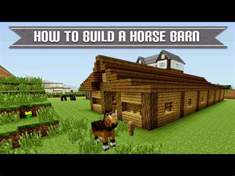 How To Build A Barn Minecraft Xbox Playstation How To Build A Cool Survival