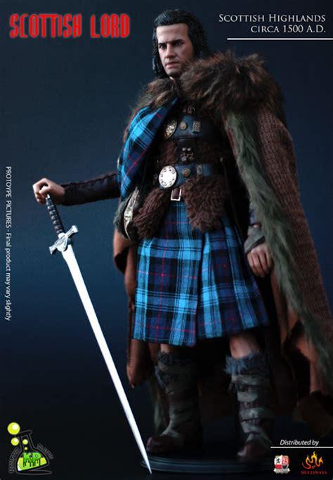 scottish highlander warrior toyhaven kaustic plastik s new 1 6th scale scottish