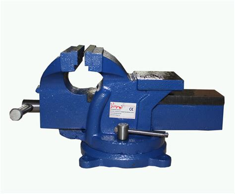 6 inch bench vise foxhunter bench vice vise 6 inch 150mm jaw cl swivel