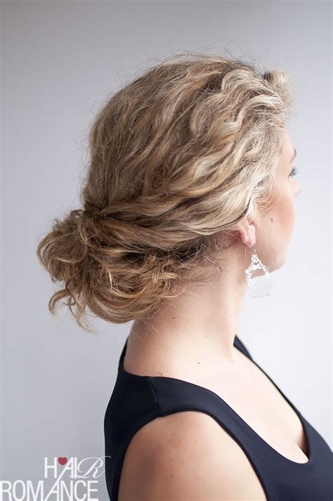 curly hairstyle tutorial the twist ponytail hair curly hairstyle tutorial the twist tuck bun hair