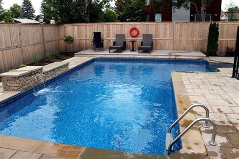 custom swimming pool ottawa contemporary pool ottawa