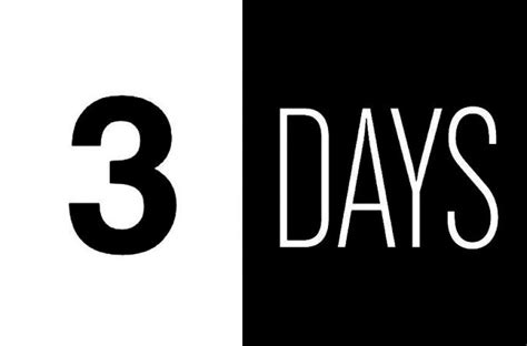 Three Days - ng16 early bird countdown 3 days to go nordic