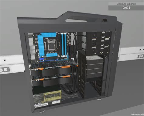 house builder simulator assemblare pc diventa un gioco con pc building simulator tom s hardware