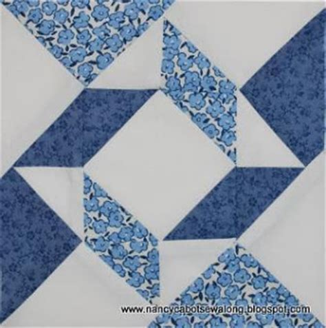 6 Inch Quilt Block Patterns Free by About Nancy Windblown Quilt Block