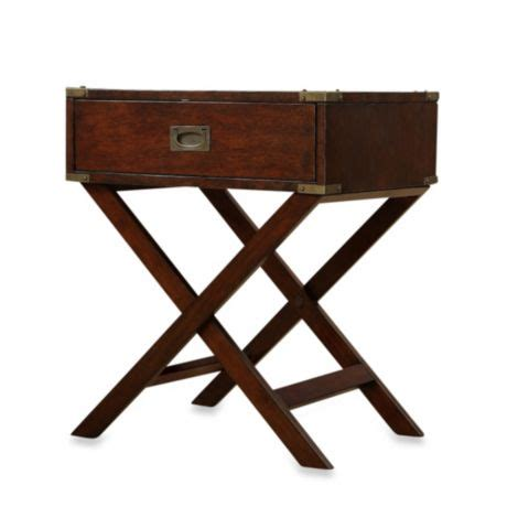 Bed Bath And Beyond Nightstand by Buy Accent Table With Cross Leg Nightstand From Bed Bath