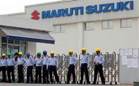 Maruti Suzuki Gurgaon Plant Maruti Suzuki Suspends Production At Manesar And Gurgaon