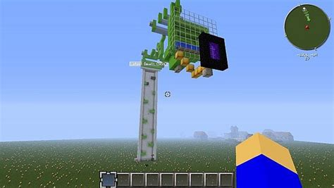 doodle jump in minecraft minecraft doodle jump deluxe minecraft project