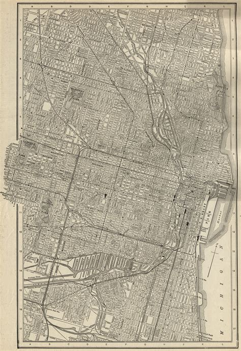 chicago map 1900 1900 residents of chicago