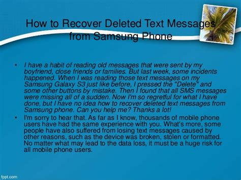 samsung galaxy s3 block text messages how to recover deleted text messages from samsung phone