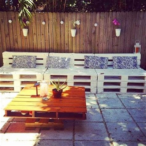 Pallet Garden Furniture Ideas Garden Furniture Designs Made With Pallets Pallets Designs