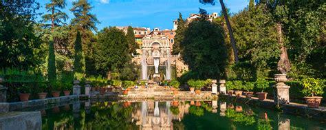 la villa d este de tivoli latium italie