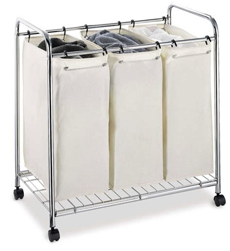 laundry sorter three bag laundry sorter in laundry sorters