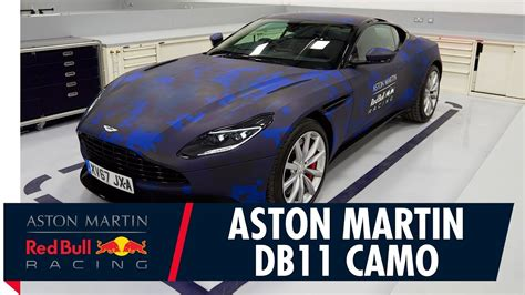 How Would You Like To Wrap A Martin Margiela Bow Around Your Ring Finger by Aston Martin Db11 Gets A Bull Racing Wrap