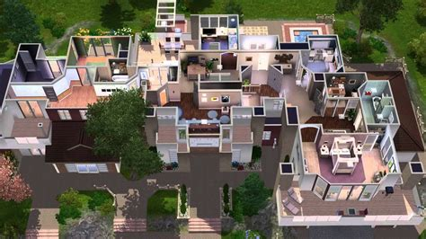 Coolhouseplan Com the sims 3 house building premactra 22 youtube