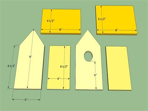 bird house building plans wooden bird house plans