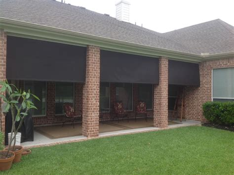 manual roll up patio shades american sunscreens by