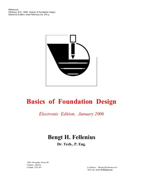 basics design 02 layout 18 basics of foundation design fellenius