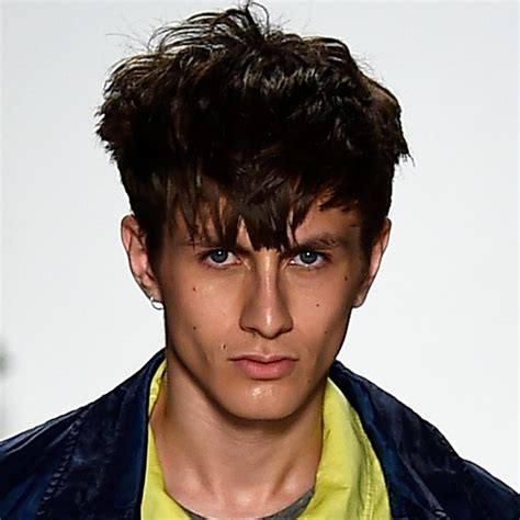 fashion boys hairstyles 2015 men s hairstyles new york fashion week spring summer 2015