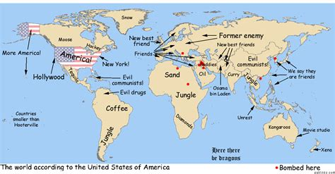 america map in world map 美国人的世界地图 会员交流区 中国分布式计算论坛 powered by discuz
