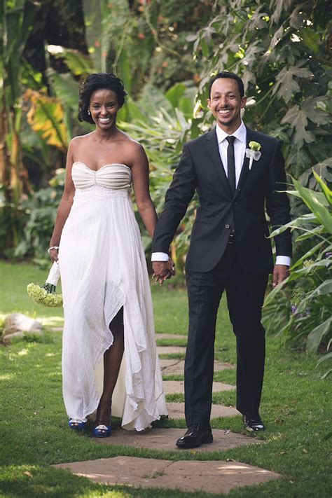 Ethiopian Cultural Wedding Dress