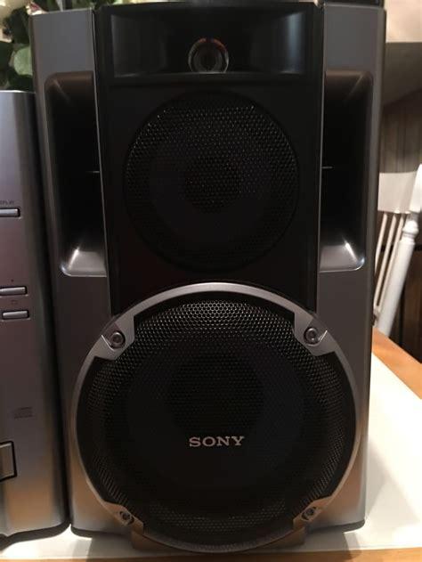 blackweb lighted bluetooth speaker sony 75 watt mega bass stereo system am fm cd for sale in