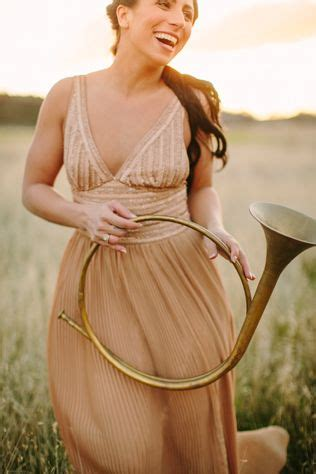 Horn Style Sml Dress our bridesmaid is playful with an antique horn from embellish vintage rentals and in the soft