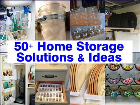 solutions for amazing ideas 50 home storage solutions ideas