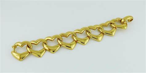 Ay Slvintage Set yves laurent ysl vintage necklace and bracelet set for sale at 1stdibs