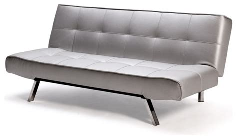 Silver Futon by Argent Sofa Bed In Silver Futons By