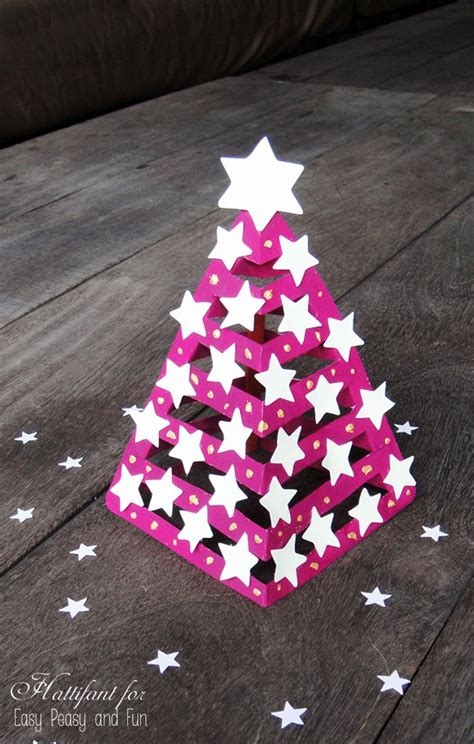 3d paper christmas tree with ribbon 25 best ideas about paper trees on weihnachten sheet crafts and