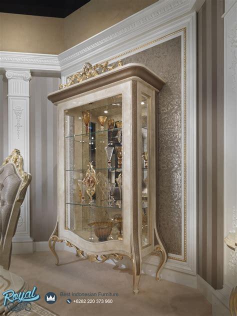 Almari Hias Jati Furniture Almari Lemari Hias almari hias mewah klasik terbaru odasi royal furniture indonesia