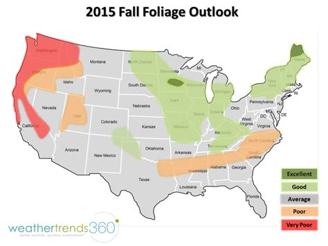 foliage map fall foliage map travel channel travel channel