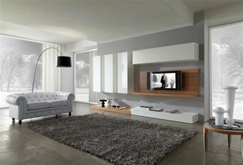 Graue Wohnzimmer Teppiche by 77 Tolle Modelle Moderne Teppiche Archzine Net