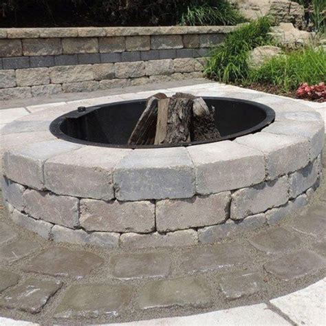 outdoor firepit kit sunset firepit kit firepits outdoor living niemeyer