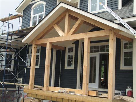 Farm House Porches by Timber Frame Homes