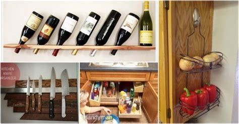 20 genius storage hacks for the kitchen diy cozy home genius kitchen storage ideas how to instructions