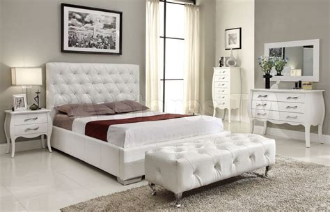 White And Mirrored Bedroom Furniture   Raya Furniture