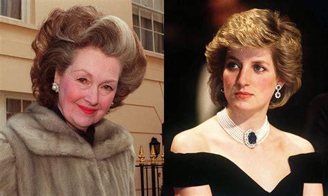 princess diana s stepmother raine spencer dies at the age princess diana s stepmother dies aged 87